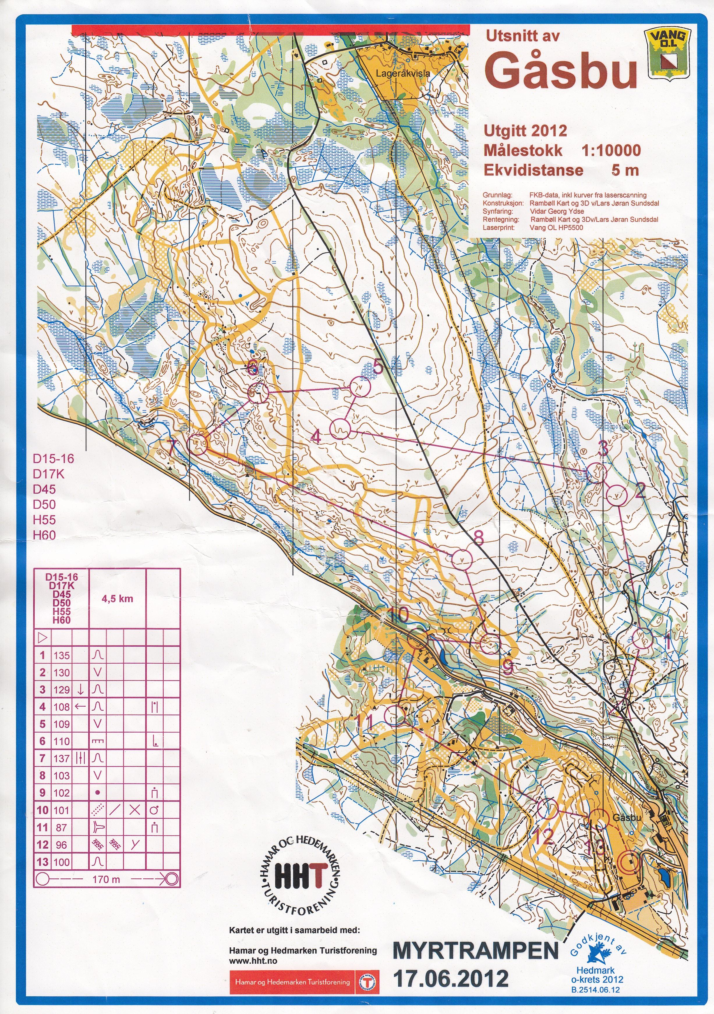 kart gåsbu Mitt digitale veivalgsarkiv :: Gåsbu/Hamar (17/06/2012) kart gåsbu